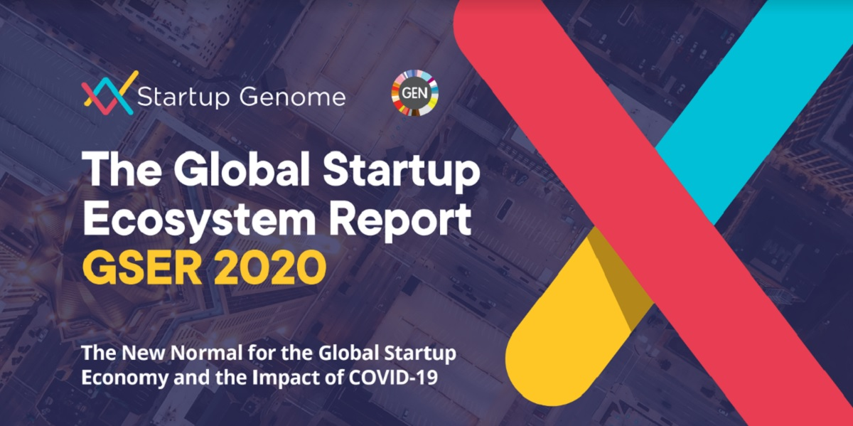 Startup Genome's 2020 ecosystem report.