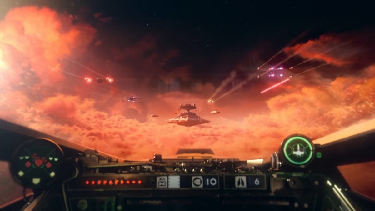 Star Wars: Squadrons gameplay gets revealed at EA Play for Not E3 | VentureBeat
