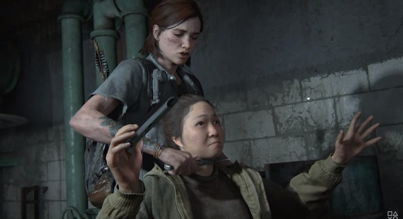 The disturbing death of the woman with the PlayStation Vita in The Last of Us Part II.