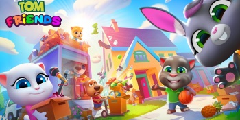 My Talking Tom Friends debuts on mobile because 13 billion downloads isn't enough