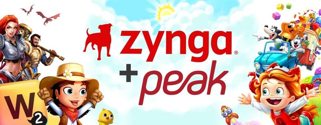 The Zynga Peak game family.