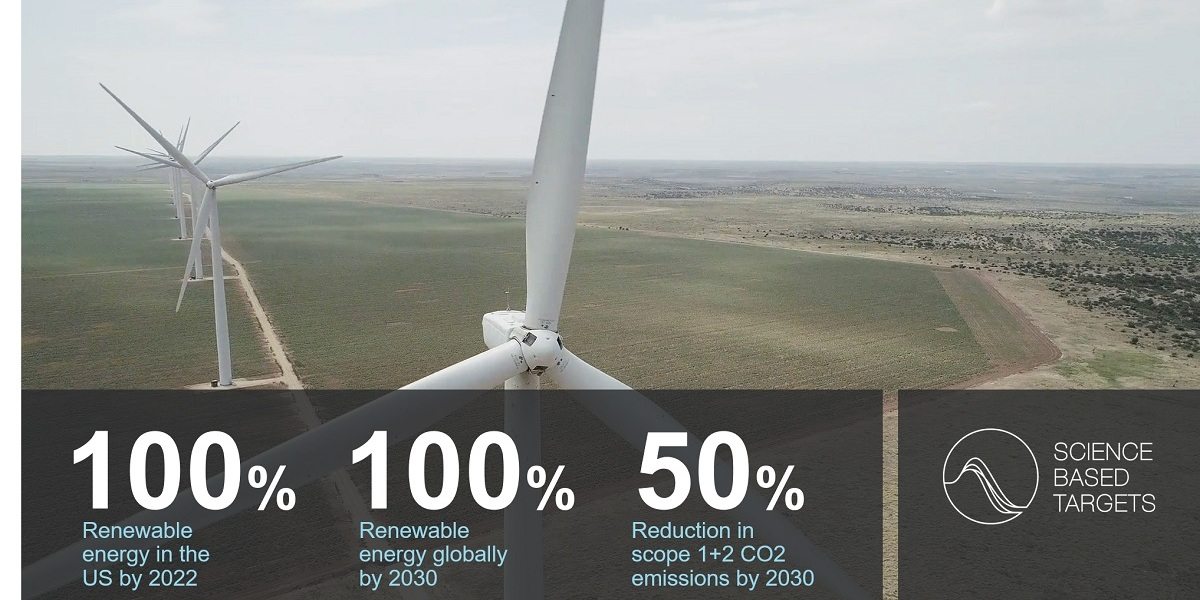 Applied Materials wants to hit 100% renewable energy worldwide by 2030.