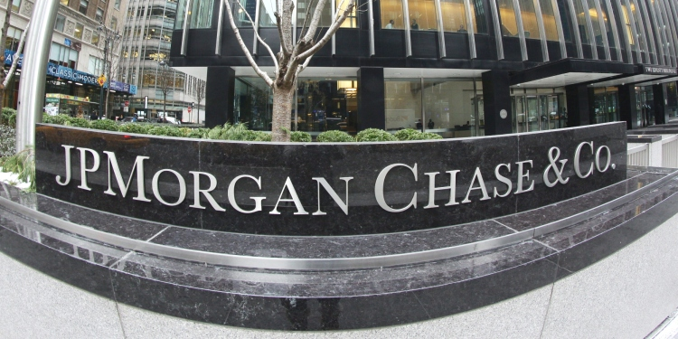 The JP Morgan Chase Tower in Park Avenue, Midtown, Manhattan