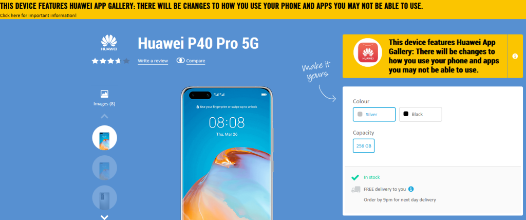 Huawei has the same app problem that doomed Windows Phone 4