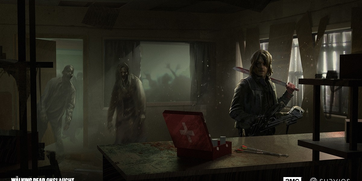 The Walking Dead: Onslaught concept art.