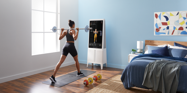 The Tempo fitness system, powered by AI.