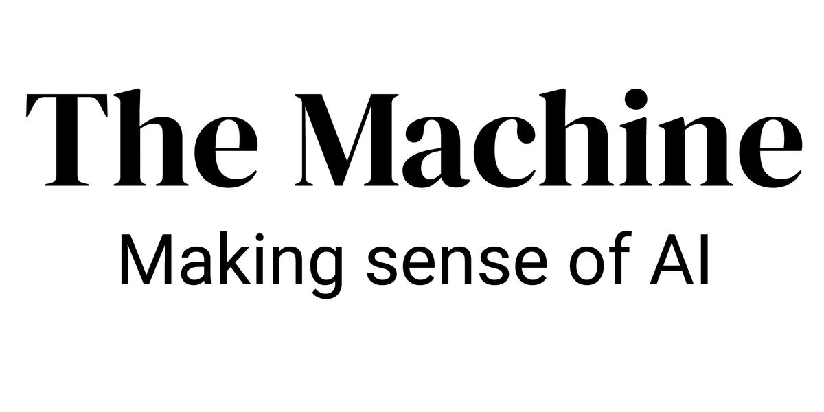 AI Weekly: Welcome to The Machine, VentureBeat's AI site