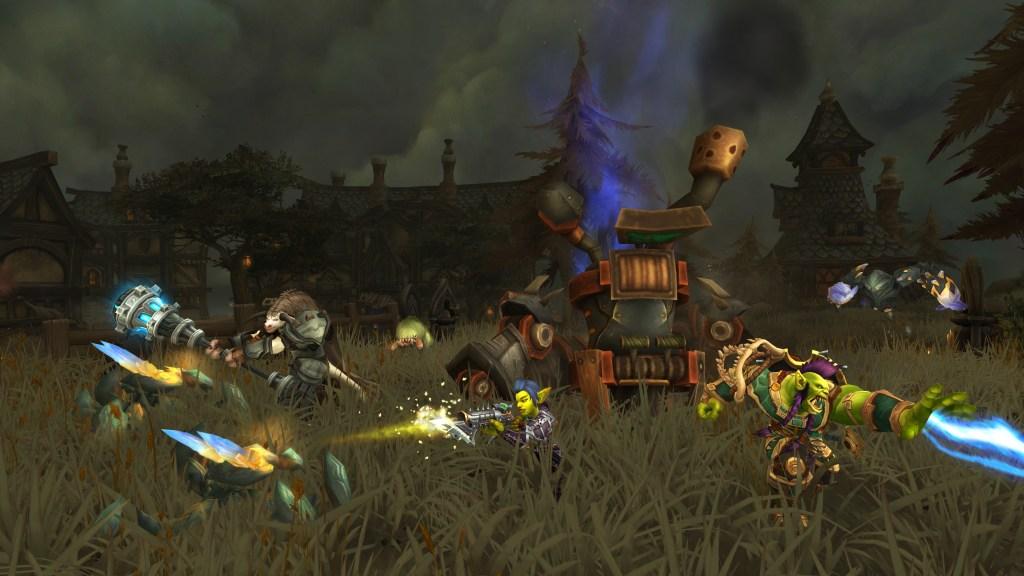 World of Warcraft Havenswood Island combat