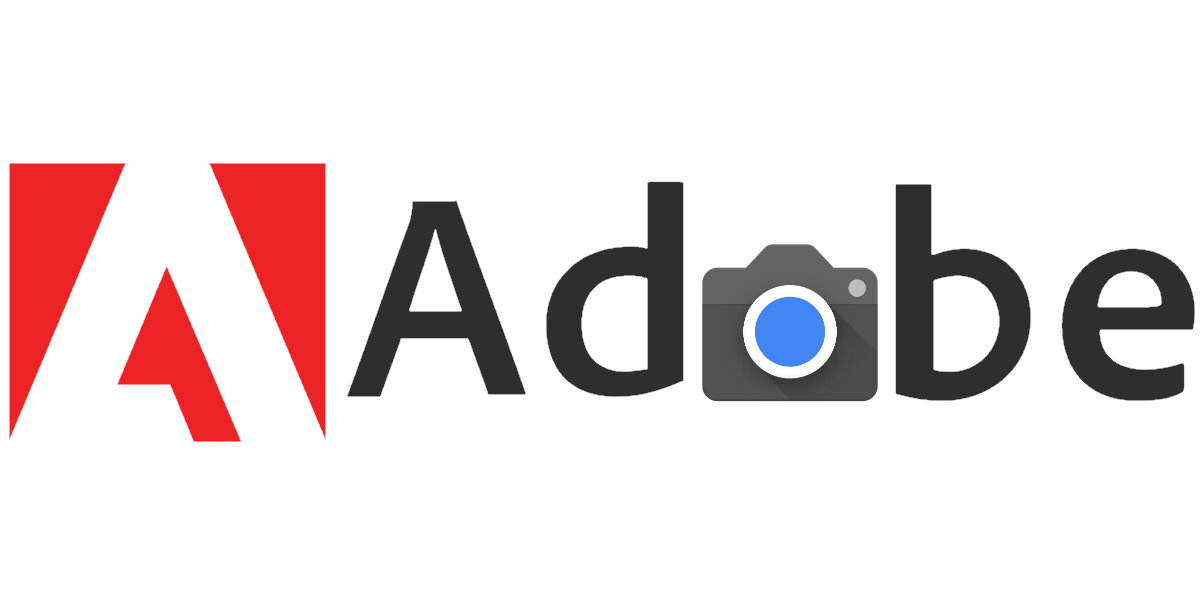 Adobe logo with the Pixel camera icon