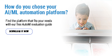 AutoMl Evaluation Guide: Picking The Right Automation Platform