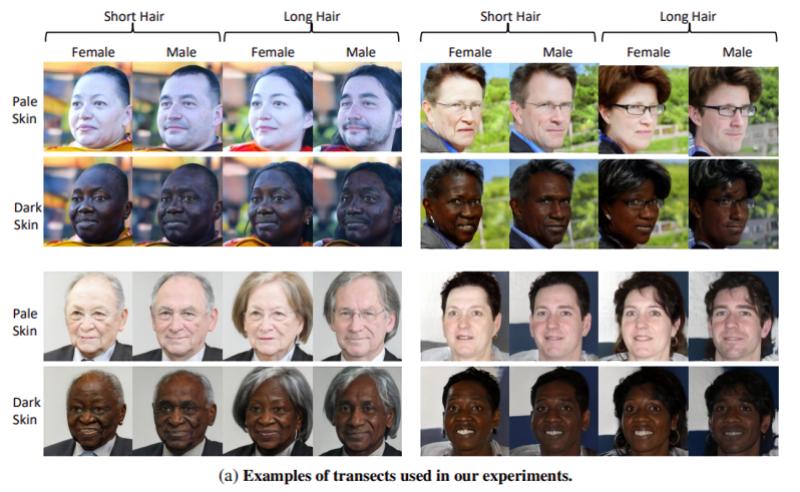 Facial recognition GAN