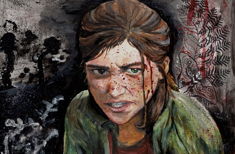 A rendition of bloody Ellie by Danielle Takahashi