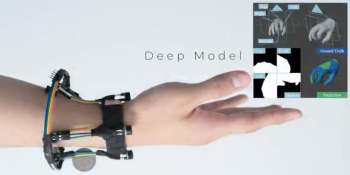 Researchers show FingerTrak, a hand tracking wristband for AR/VR input