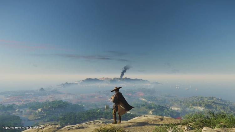 Tsushima is a big and beautiful world to explore.