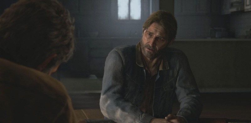 Tommy, Joel's brother, is so much kinder at the start of The Last of Us Part II.