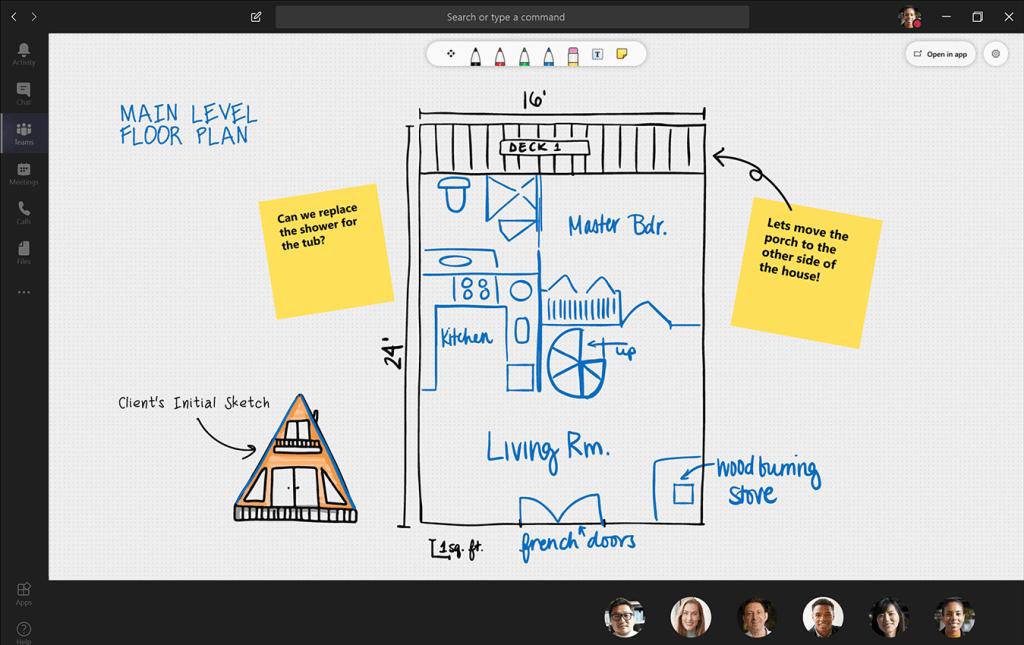 Microsoft Teams Whiteboard