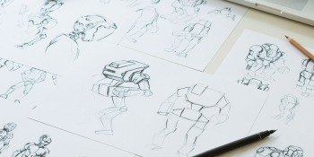 Learn character drawing from former Marvel and DreamWorks artists with this training