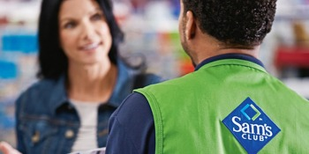 Get a Sam's Club membership for free today