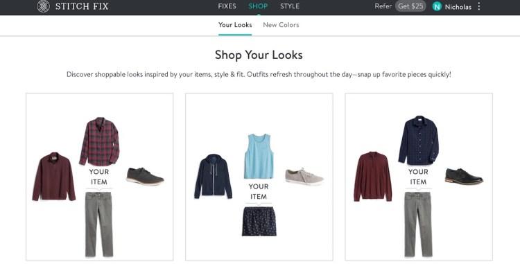 stitch fix shop your looks 1