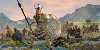 Total War Saga: Troy — Menelaus must unite the Greeks before taking on the Trojans
