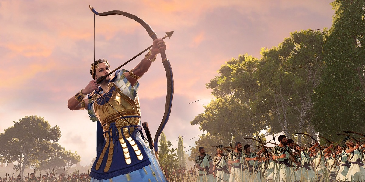 Paris the archer is one of the sons of Troy's King Priam.