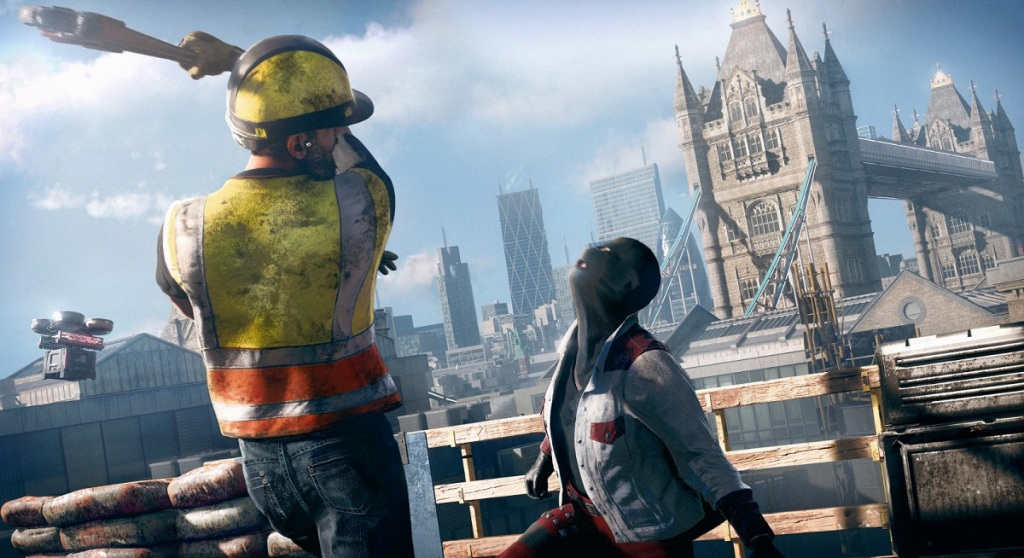 Construction workers can infiltrate job sites in Watch Dogs: Legion.