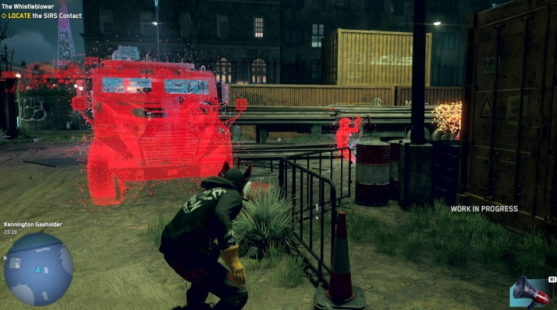 Using AR to sleuth in Watch Dogs: Legion