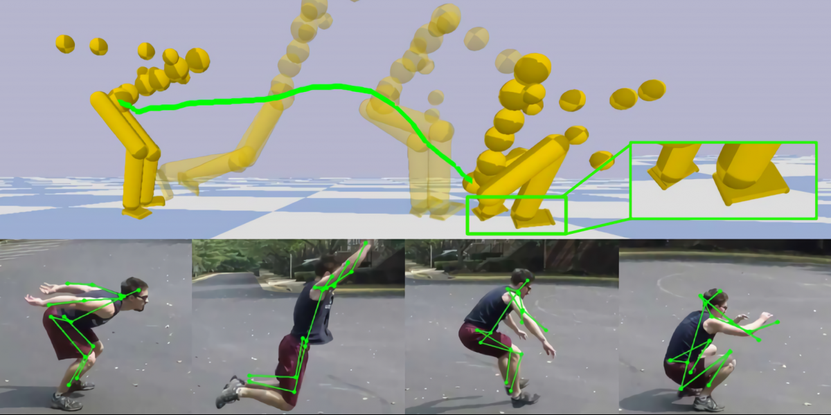 Researchers' AI can perform 3D motion capture with any off the shelf camera