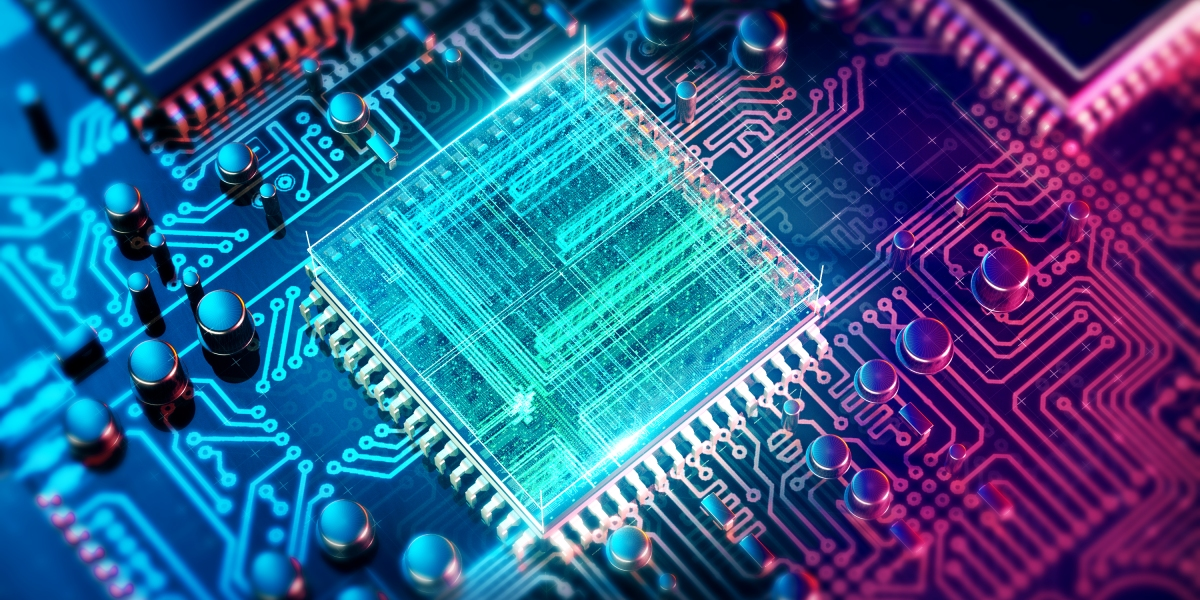 Inside of an integrated circuit