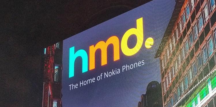 HMD Global sign in London (October, 2018)