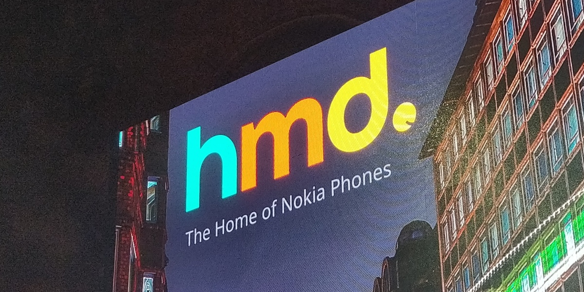 HMD Global sign in London (October, 2018)