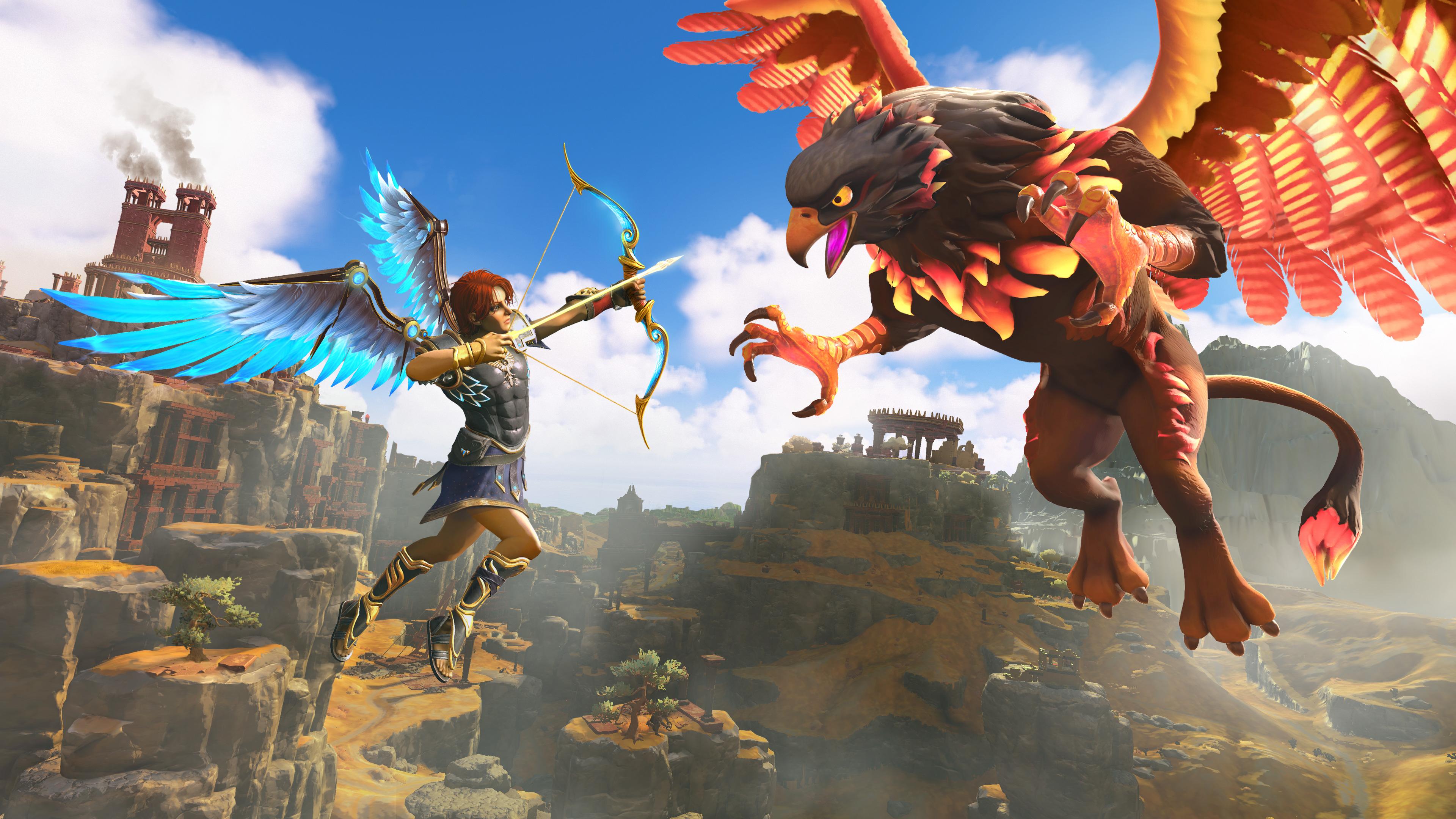 Immortals: Fenyx Rising is Ubisoft's Zelda: Breath of the wild | VentureBeat