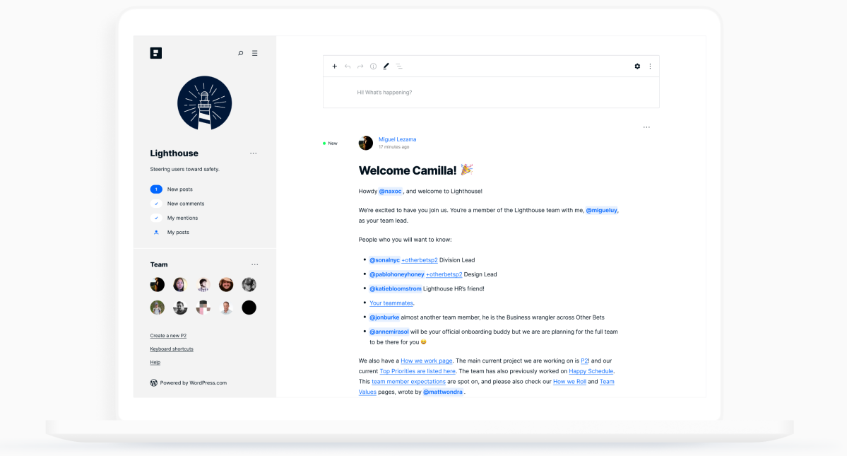 Automattic launches P2, a WordPress-powered communication and collaboration tool for remote teams (Paul Sawers/VentureBeat)