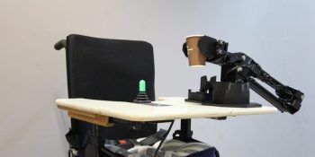 Intel details robotic assistive arm for wheelchair users
