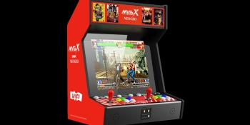 SNK's Neo Geo MVSX brings the classic arcade machine to your home