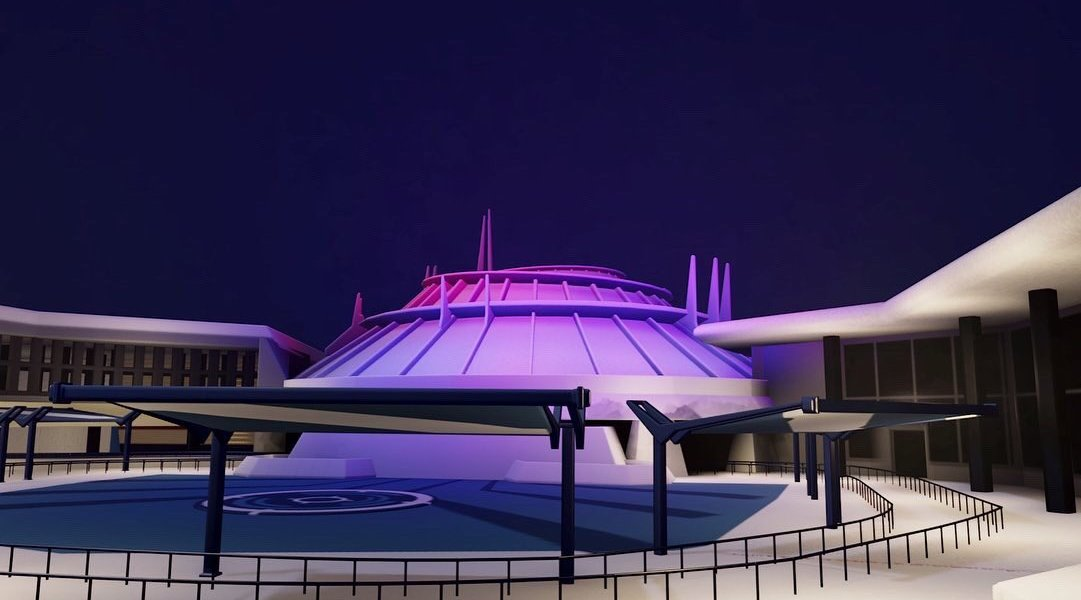 A modder is using Dreams on PSVR to rec-create Disneyland.