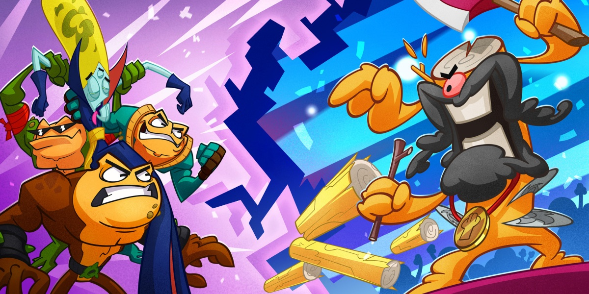 Battletoads is thriving on its characters and style.
