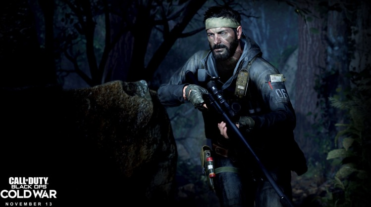 Frank Woods goes into the woods in Call of Duty: Black Ops Cold War.