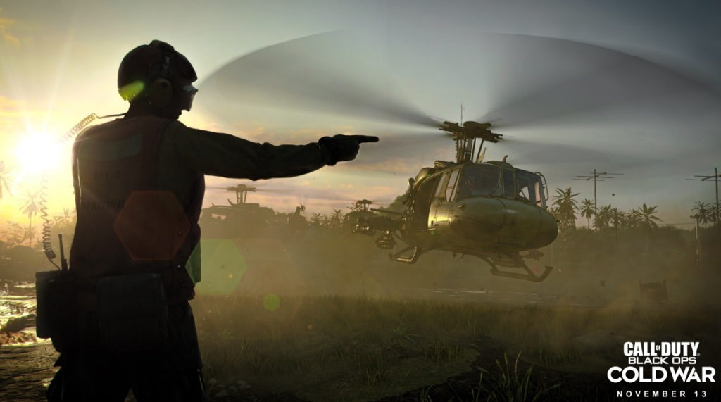 Call of Duty: Black Ops Cold War has levels set in Vietnam in 1968.