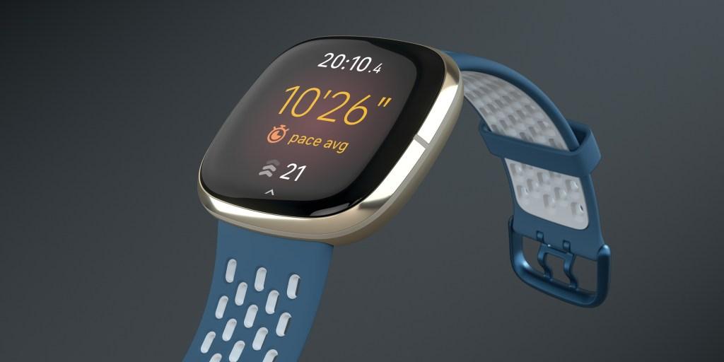 Fitbit Sense pace average