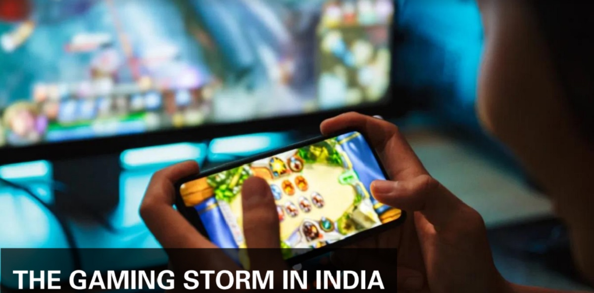 India's game market is booming.