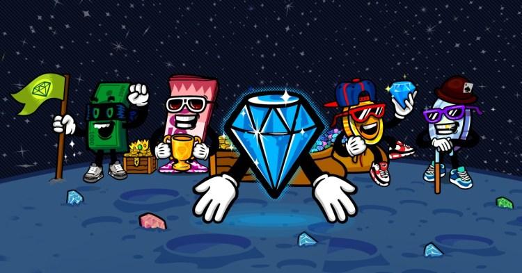 Lootcakes' Moon characters.