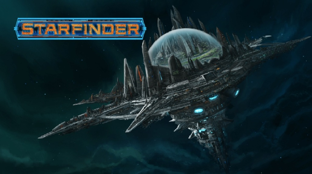 Starfinder is a science fiction language game starring Laura Bailey and Nathan.