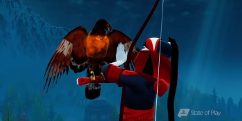 Sony shows off gameplay for Giant Squid's The Pathless