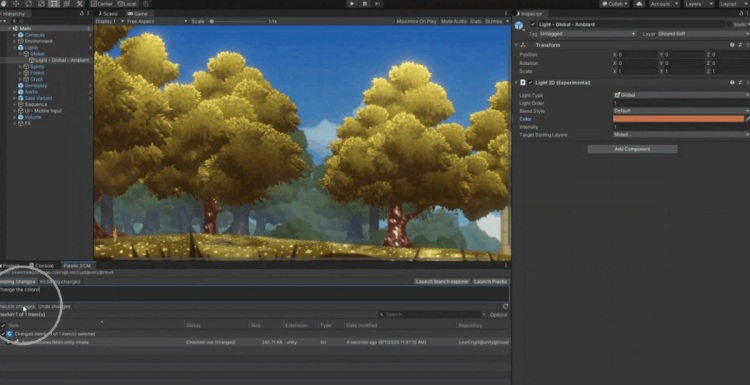 Unity has acquired Codice Software for 3D file version control.