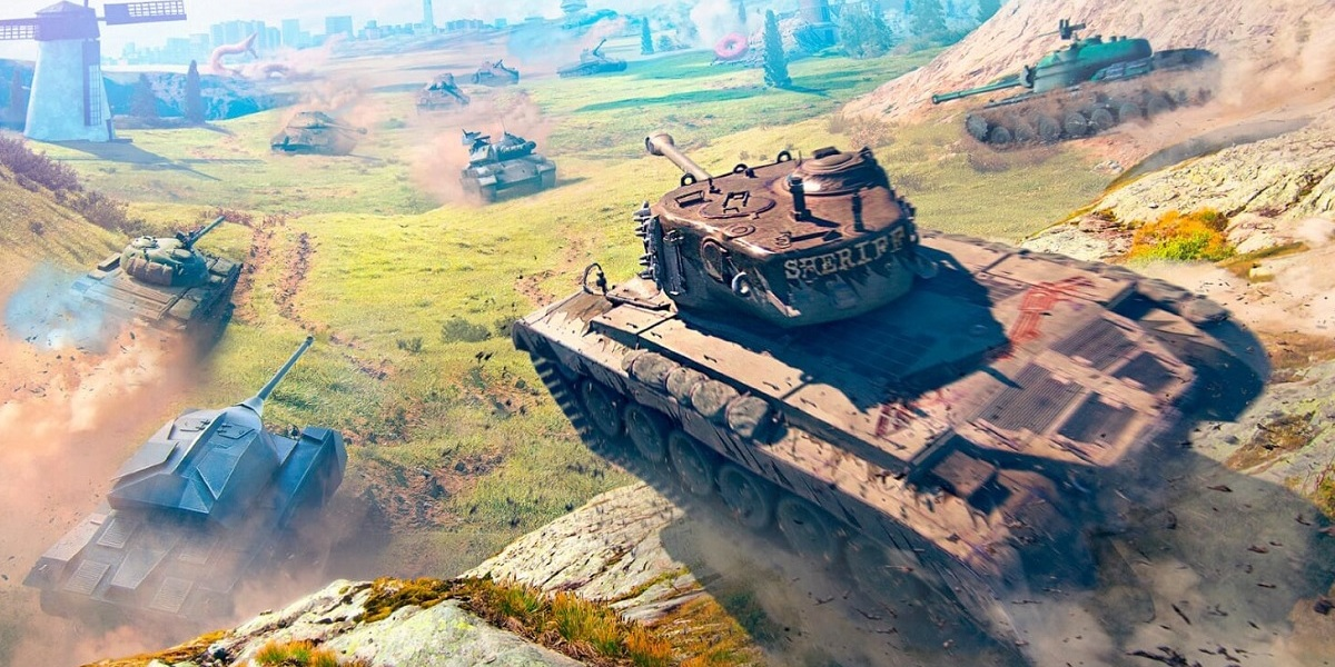 World of Tanks Blitz on the Switch.
