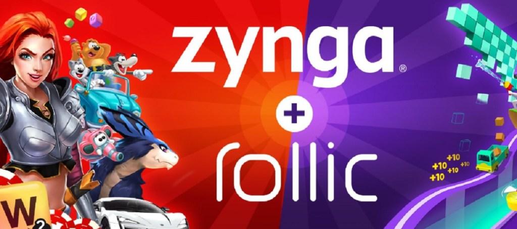 Zynga is buying Rollic.
