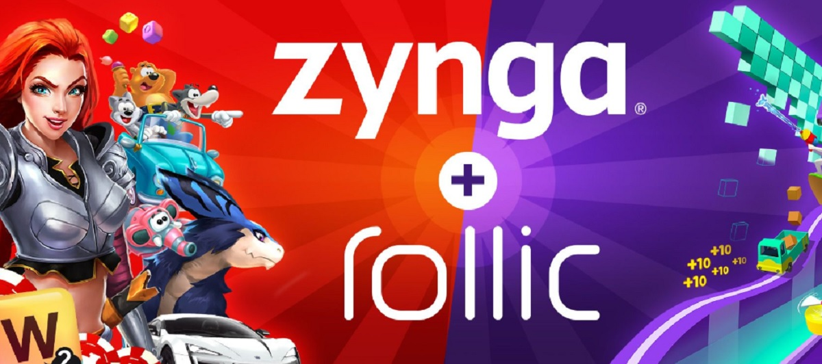Zynga is acquiring hypercasual mobile game firm Rollic for at least 8M