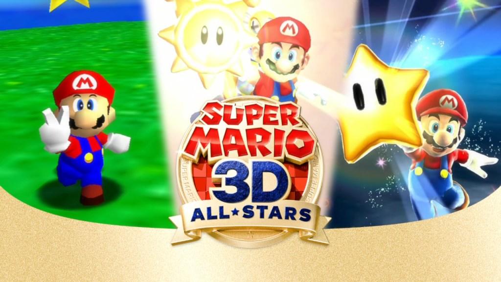 Super Mario 3D All-Stars.