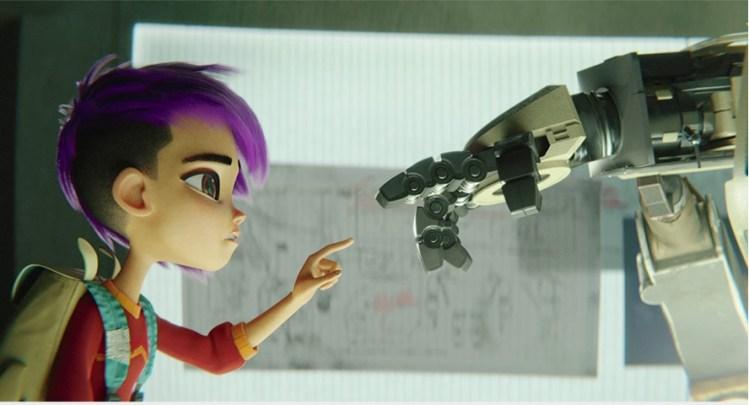 Image credit: Baozou in association with Tangent Studios. Media courtesy of NETFLIX Inc.